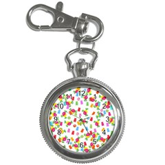 Candy Pattern Key Chain Watches by Valentinaart