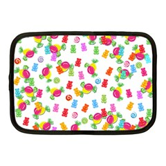 Candy Pattern Netbook Case (medium)  by Valentinaart