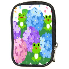 Animals Frog Face Mask Green Flower Floral Star Leaf Music Compact Camera Cases by Mariart