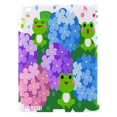 Animals Frog Face Mask Green Flower Floral Star Leaf Music Apple Ipad 3/4 Hardshell Case (compatible With Smart Cover) by Mariart
