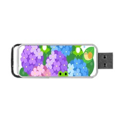 Animals Frog Face Mask Green Flower Floral Star Leaf Music Portable Usb Flash (one Side) by Mariart