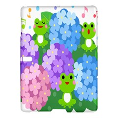 Animals Frog Face Mask Green Flower Floral Star Leaf Music Samsung Galaxy Tab S (10 5 ) Hardshell Case  by Mariart