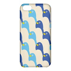 Animals Penguin Ice Blue White Cool Bird Apple Iphone 5c Hardshell Case by Mariart