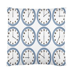 Alarm Clock Hour Circle Standard Cushion Case (two Sides) by Mariart