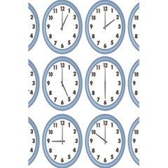 Alarm Clock Hour Circle 5 5  X 8 5  Notebooks by Mariart