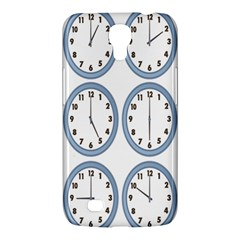 Alarm Clock Hour Circle Samsung Galaxy Mega 6 3  I9200 Hardshell Case by Mariart
