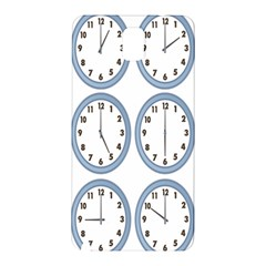 Alarm Clock Hour Circle Samsung Galaxy Note 3 N9005 Hardshell Back Case by Mariart