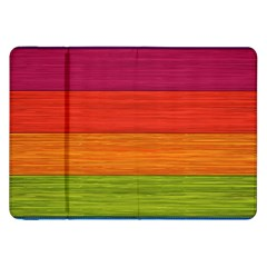 Wooden Plate Color Purple Red Orange Green Blue Samsung Galaxy Tab 8 9  P7300 Flip Case by Mariart