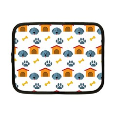 Bone House Face Dog Netbook Case (small)  by Mariart