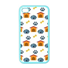 Bone House Face Dog Apple Iphone 4 Case (color) by Mariart