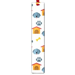 Bone House Face Dog Large Book Marks by Mariart