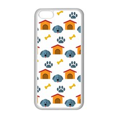 Bone House Face Dog Apple Iphone 5c Seamless Case (white) by Mariart