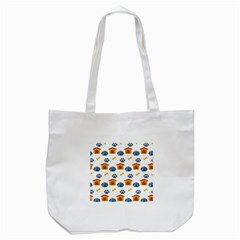 Bone House Face Dog Tote Bag (white) by Mariart