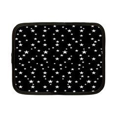 Black Star Space Netbook Case (small)  by Mariart