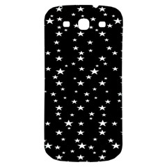 Black Star Space Samsung Galaxy S3 S Iii Classic Hardshell Back Case by Mariart