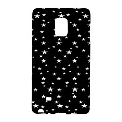 Black Star Space Galaxy Note Edge by Mariart