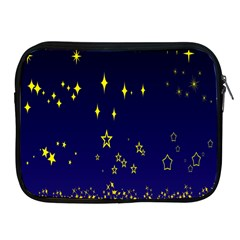 Blue Star Space Galaxy Light Night Apple Ipad 2/3/4 Zipper Cases by Mariart