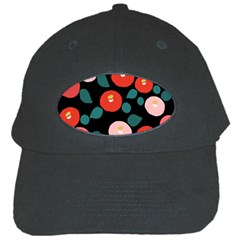 Candy Sugar Red Pink Blue Black Circle Black Cap by Mariart