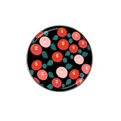 Candy Sugar Red Pink Blue Black Circle Hat Clip Ball Marker by Mariart