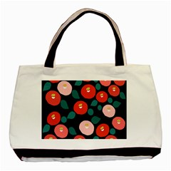 Candy Sugar Red Pink Blue Black Circle Basic Tote Bag by Mariart