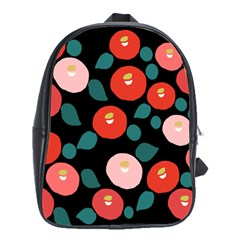 Candy Sugar Red Pink Blue Black Circle School Bags(large)  by Mariart