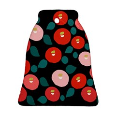 Candy Sugar Red Pink Blue Black Circle Ornament (bell) by Mariart