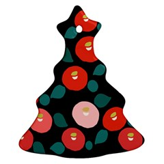 Candy Sugar Red Pink Blue Black Circle Christmas Tree Ornament (two Sides) by Mariart