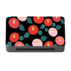 Candy Sugar Red Pink Blue Black Circle Memory Card Reader With Cf by Mariart