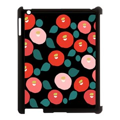 Candy Sugar Red Pink Blue Black Circle Apple Ipad 3/4 Case (black) by Mariart