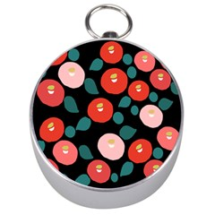 Candy Sugar Red Pink Blue Black Circle Silver Compasses by Mariart