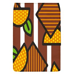 Chocolate Lime Brown Circle Line Plaid Polka Dot Orange Green White Flap Covers (s)  by Mariart