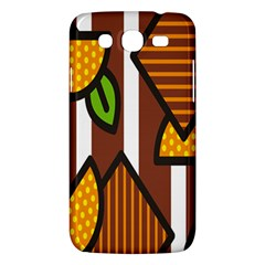 Chocolate Lime Brown Circle Line Plaid Polka Dot Orange Green White Samsung Galaxy Mega 5 8 I9152 Hardshell Case  by Mariart