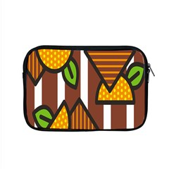 Chocolate Lime Brown Circle Line Plaid Polka Dot Orange Green White Apple Macbook Pro 15  Zipper Case by Mariart