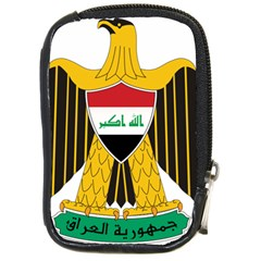 Coat Of Arms Of Iraq  Compact Camera Cases by abbeyz71