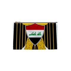 Coat Of Arms Of Iraq  Cosmetic Bag (small)  by abbeyz71