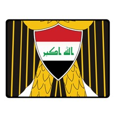 Coat Of Arms Of Iraq  Fleece Blanket (small) by abbeyz71