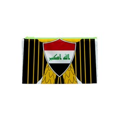 Coat Of Arms Of Iraq  Cosmetic Bag (xs) by abbeyz71