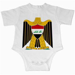 Coat Of Arms Of Iraq  Infant Creepers by abbeyz71