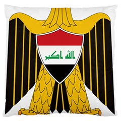 Coat Of Arms Of Iraq  Large Flano Cushion Case (one Side) by abbeyz71