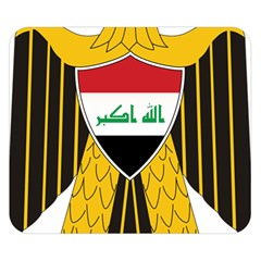 Coat Of Arms Of Iraq  Double Sided Flano Blanket (small)  by abbeyz71