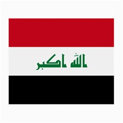 Flag Of Iraq Small Glasses Cloth (2 Side) by abbeyz71