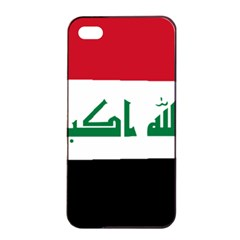 Flag Of Iraq Apple Iphone 4/4s Seamless Case (black) by abbeyz71
