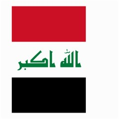 Flag Of Iraq Small Garden Flag (two Sides) by abbeyz71