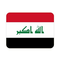 Flag Of Iraq Double Sided Flano Blanket (mini)  by abbeyz71