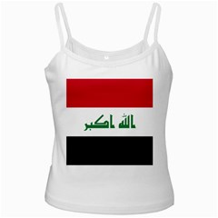 Flag Of Iraq  Ladies Camisoles by abbeyz71