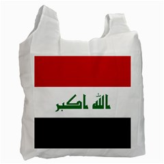 Flag Of Iraq  Recycle Bag (one Side) by abbeyz71