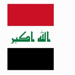 Flag Of Iraq  Large Garden Flag (two Sides) by abbeyz71