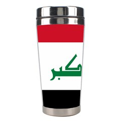 Flag Of Iraq  Stainless Steel Travel Tumblers by abbeyz71