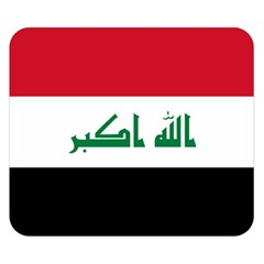 Flag Of Iraq  Double Sided Flano Blanket (small)  by abbeyz71