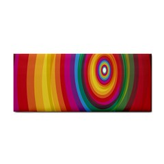 Circle Rainbow Color Hole Rasta Cosmetic Storage Cases by Mariart